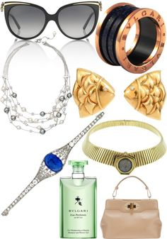 """""""bulgari"""" by reb-m-1 ❤ liked on Polyvore"""
