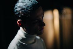 Backstage at Robert Geller, Fall/Winter 2016/2017 | New York City
