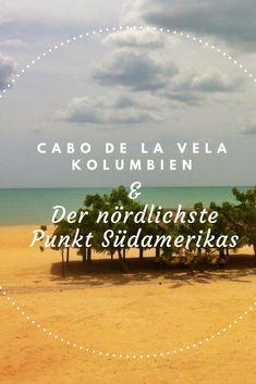 Cabo de La Vela liegt weit abseits der ausgetretenen Touristenpfade. Das Wüstenparadies befindet sich auf der La Guajira Halbinsel, an dem nördlichsten Punkt Südamerikas. Es gibt viele Gründe, warum diese neue Öko-Tourismus-Destination für die meisten Touristen nicht auf der Prioritätenliste steht. Aber diejenigen, die das Abenteuer suchen und den Anfahrtsweg auf staubigem Wüstenboden nicht scheuen, werden in Cabo de La Vela belohnt. #Kolumbien #Südamerika #Reisetipps #Reiseidee… Venezuela Culture, Colombian Culture, Colombia Travel, World Pictures, Travel Organization, South America Travel, Caribbean Sea, Culture Travel, Bolivia