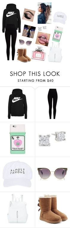 """Obsession #14"" by annaconley on Polyvore featuring NIKE, Pepper & Mayne, Nasaseasons, Jimmy Choo, Ashley Stewart, UGG and Christian Dior"
