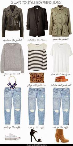 The Closet Coach: Boyfriend Jeans