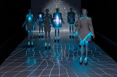 Experience Designer Vega Zaishi Wang's Electroluminescent Fashion Collection Alpha Lyrae | The Creators Project