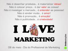 I love marketing!