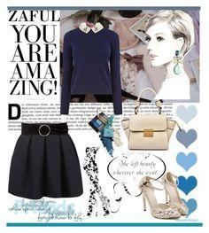 """www.zaful.com/?lkid=4313"" by amelakafedic ❤ liked on Polyvore featuring moda, Oasis y MANGO"