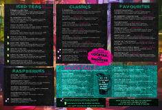 「cocktail menu」の画像検索結果