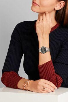 IWC SCHAFFHAUSEN - Portofino Automatic 37 Stainless Steel And Diamond Watch - Silver - one size