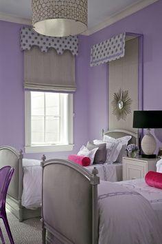 Purple Girl Bedroom