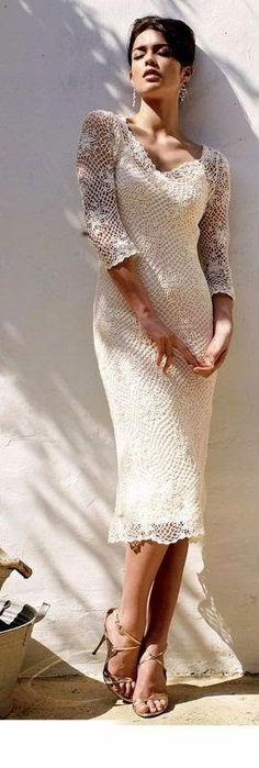 TRICO y CROCHET-madona-mía: Novias Crochet Irlandés-Modelos