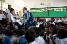 Secretary-General Visits Cassait School in Timorese Capital Dili
