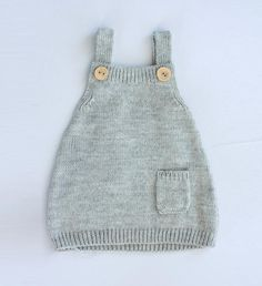 Knitted baby dress in wool alpaca blend, available in many colors Baby Knitting Patterns, Free Knitting, Brei Baby, Knit Baby Dress, Knit Crochet, Knitted Baby, Baby Pullover, Alpaca, Other Outfits