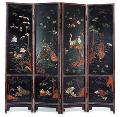 Find the worth of your antique folding screens. Learn the market value of your antique folding screens. Chinese Painting, Chinese Art, Asian Furniture, Painted Furniture, Folding Screens, Chinese Embroidery, Decorative Screens, Magnolia Trees, Room Screen