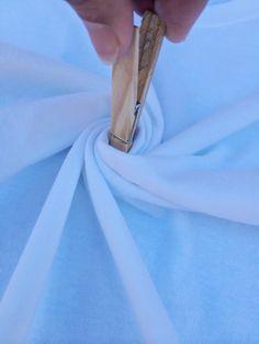 4th of July Tie Dye DIY - the Perfect Swirl #tiedye #4thofJuly