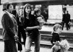 Baby Charlotte Gainsbourg