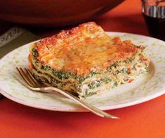 Spinach and Ricotta Lasagne. My favorite. I often substitute ricotta with cottage cheese and also use fresh spinach steamed instead of frozen. Lasagne Recipes, Pasta Recipes, Cooking Recipes, Spinach And Ricotta Lasagne, Ricotta Pizza, Spinach Pasta, No Boil Lasagna, Lasagna Noodles, Cheese Lasagna