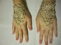 Beautiful Victorian Lace Fingerless Badass Gloves...that go perfect with any steampunk outfit!!!!