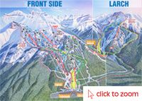 Lake Louise Ski Resort (Front Side)