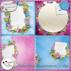 Colorful Explosion Quickpages by Tigroune {exclu SFF}