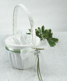 Celtic Charm Flower Girl Basket