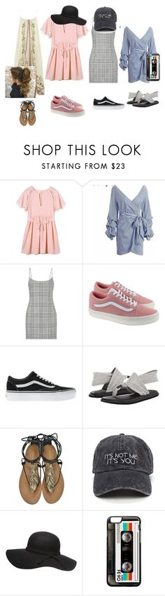 """""""Untitled #106"""" by elizabethsimmons-2 on Polyvore featuring Alexander Wang, Vans, sanuk and Roberto Cavalli"""