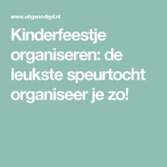 Kinderfeestje organiseren: de leukste speurtocht organiseer je zo!