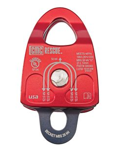 Lightweight, PMP, prusik minding double pulley is ideal for mountain, swiftwater and technical team rescues. Find the Double Rescue Pulleys at CMC. Climbing Tools, Rappelling, Survival Equipment, Search And Rescue, Mountaineering, Pulley, Ropes, Tactical Gear, Survival Skills
