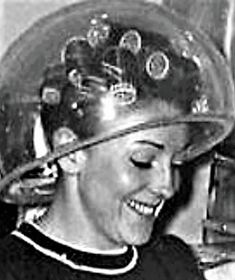 Vintage Glamour, Vintage Beauty, Salon Dryers, Sleep In Hair Rollers, Wet Set, Perm Rods, Hair Nets, Roller Set, Curlers