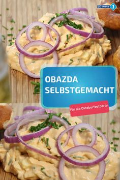 Obazda Rezept Obazda homemade – perfect recipe for the Oktoberfest party. Or for a hangover breakfast afterwards Breakfast Party, Hangover Breakfast, Oktoberfest Party, Avocado Dessert, Healthy Foods To Eat, Healthy Snacks, Healthy Recipes, Law Carb, Snacks Under 100 Calories