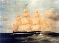 Mormon Pioneers 1846 ship Brooklyn Project - This page covers the Mormon Pioneers of 1846 on the Ship Brooklyn only. This dangerous trek of nearly 24,000 miles (39,000 km) would claim 10 lives of the ship's 238 passengers, nine of which were buried at sea. #genealogy