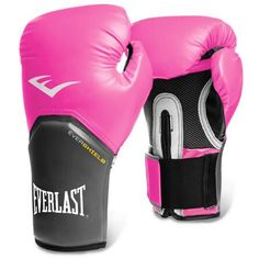 Everlast 12 Oz Pro Style Womens Boxing Gloves Pink