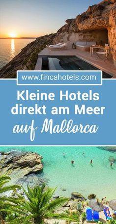 Über 100 Strände auf Mallorca locken viele Urlauber zum Badeurlaub auf die schöne Mittelmeerinsel. Wir haben euch die schönsten Hotels und Reisetipps entlang der Küsten zusammen gestellt. Familien wie Paare finden hier ihr ganz persönliches Hideway direkt am Strand. #mallorca #urlaubammeer #strandhotel #badeurlaub #ferien #urlaub #holiday #fincahotels