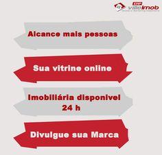 Com o site imobiliário villeimob, você alcança mais pessoas, tem a sua vitrine online, sua imobiliária disponível 24h e ainda divulga a sua marca.  Acesse: http://www.villeimobiliarias.com.br/site-imobiliario/