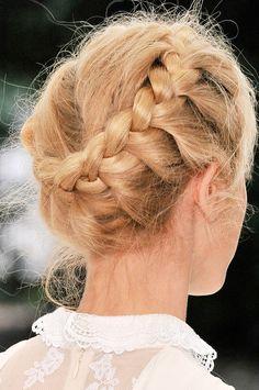 Braids at Erdem  #erdem #braids