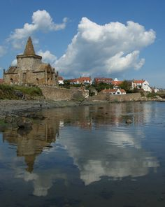 St Monans, a fishing village in the East Neuk of Fife. The old church dates from the 11th century, well worth a visit.