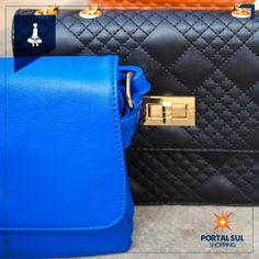 As bolsas e acessórios mais descolados estão na Willy Bolsas.  No Portal Sul Shopping tem!