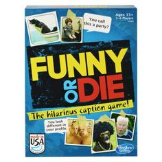 Let's see just how funny the funniest person you know is. $11.39 Funny or Die Caption Game.
