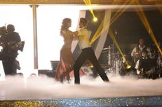 Amy Purdy and Derek Hough dance the Rumba on #DWTS week 7 (4/28/14)