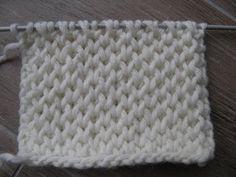 comment tricoter les petits rayons de miel en tricot, un des points de base du… facile echarpe Knitting Stiches, Knitting Patterns Free, Crochet Stitches, Baby Knitting, Stitch Patterns, Free Pattern, Basket Weaving Patterns, Knitting Projects, Honeycombs