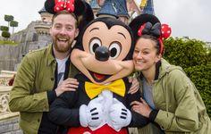 Ricky Wilson Enjoys A Trip To Disneyland Paris