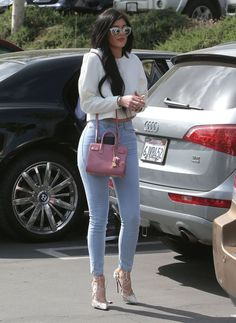 April 5, 2015 - Kylie Jenner going to church in Calabasas.