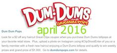 Free Printable Coupons: Great Clips Coupons Dum Dums Lollipops, Great Clips Coupons, Free Printable Coupons, Coupon Codes, Coding, Printables, January 2016, March, Print Templates