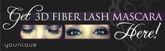 Younique Inspired Fiber Mascara Banner by ZenStudioAsheville 3d Mascara, 3d Fiber Lashes, 3d Fiber Lash Mascara, Best Mascara, Younique Presenter, Best Lashes, Tips Belleza, How To Feel Beautiful, Beautiful Gorgeous