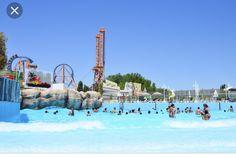 Parque Warner Beach Madrid Parque Acuatico Parques Piscinas Para Perros