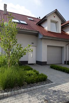 minimalistyczny ogród