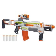 This is Nerf Nation - explore all Nerf blasters and accessories including dart blasters, water blasters, and laser blasters! Play free online games for kids of all ages! To learn more about Nerf blasters, check out the featured videos. Toys R Us, Toys For Boys, Kids Toys, Toddler Toys, Baby Toys, Arma Nerf, Cool Nerf Guns, Nerf Toys, Nerf Games
