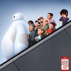 Escalators are not fast…#BigHero6