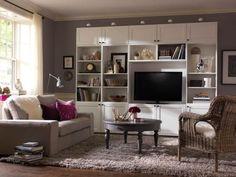 Ideas de decoración para salas con tv