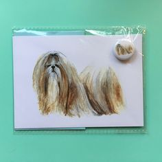 A personal favourite from my Etsy shop https://www.etsy.com/uk/listing/592942415/limited-edition-shih-tzu-illustrated