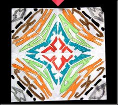Symetrical Designs symmetrical name designs | art projects: collage | pinterest | art