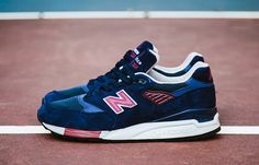 New Balance 998 'Made in USA' | Navy & Maroon
