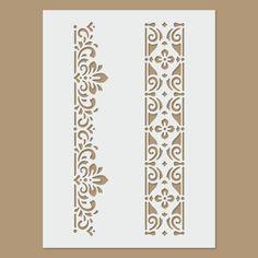 Tamaño de la hoja: 145 x 200 mm (5.7 x 7,8 pulgadas) Esta plantilla está hecha de plástico. Conveniente para el uso crear imágenes en una variedad de superficies. Material: 125 micrones de película de poliéster Mylar plantilla - flexible y fácil de limpiar. --------- Preguntas Stencils, Stencil Painting, Fabric Painting, Stencil Patterns, Stencil Designs, Painting Patterns, Thermocol Craft, Coffee Artwork, Deco Paint